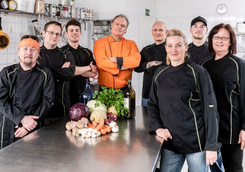 Frank Kutzscher und sein Team
